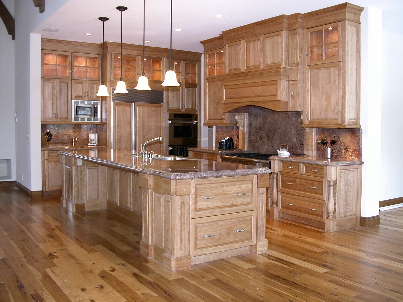 Custom kitchen islands appealing kitchen island for Custom kitchen design
