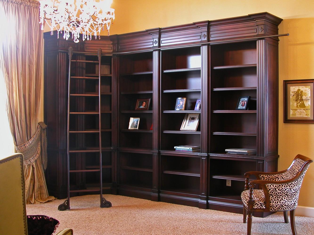 Home Offices Amp Libraries Unique Design Cabinet Co