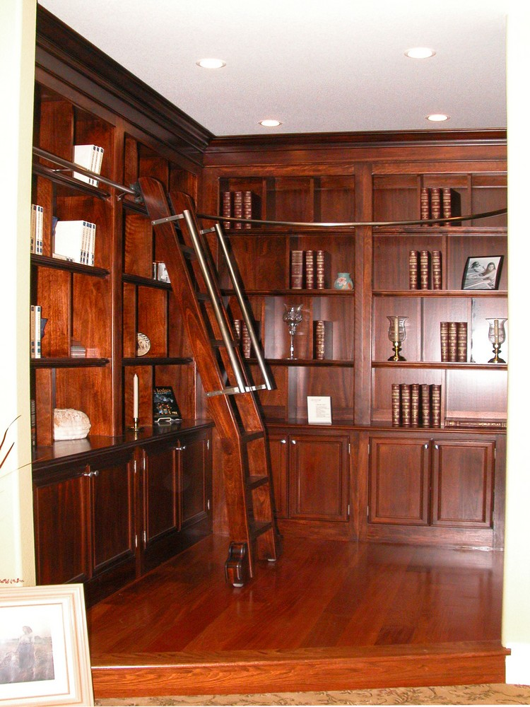 home offices libraries unique design cabinet co. Black Bedroom Furniture Sets. Home Design Ideas