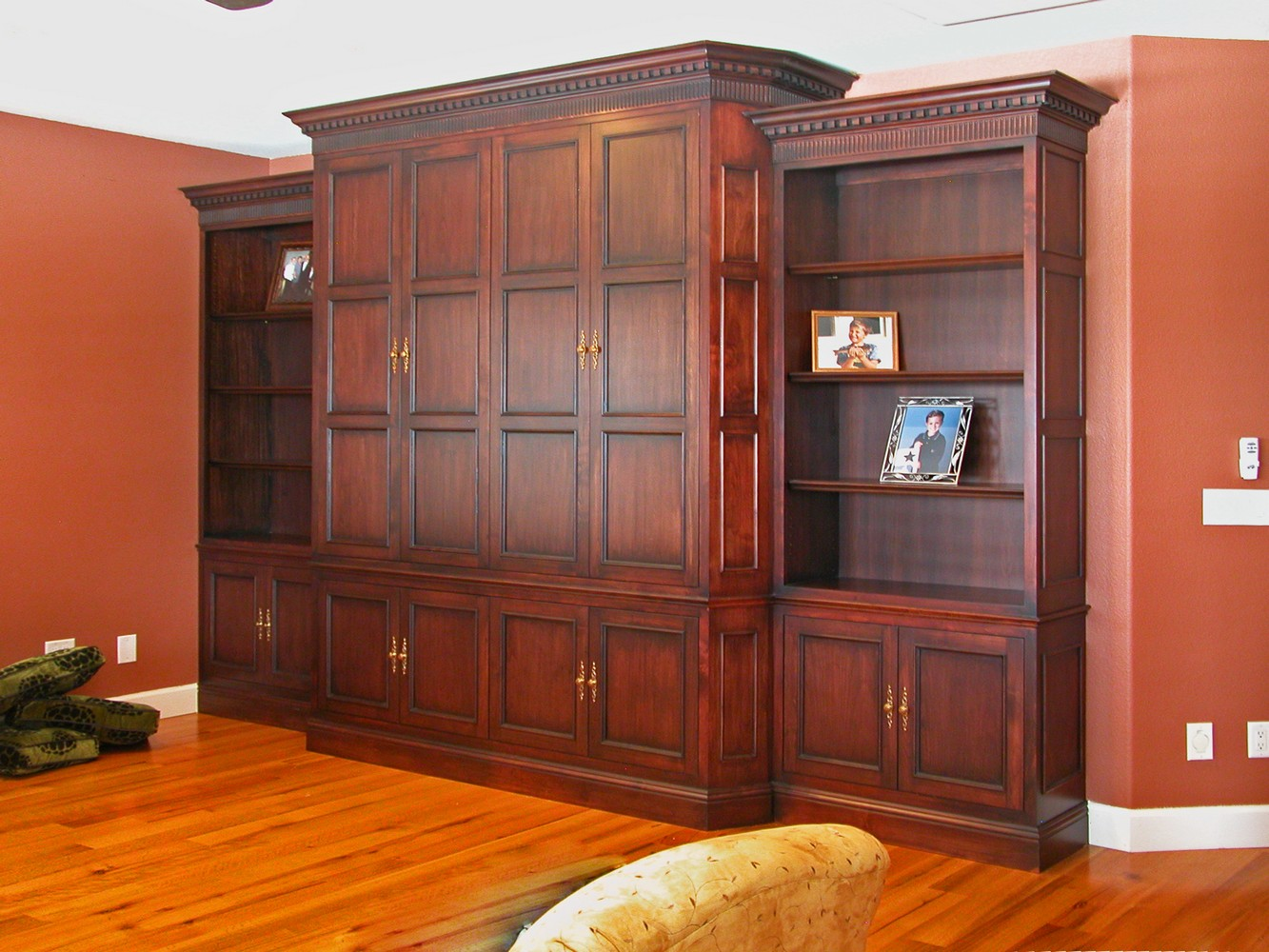 Television cabinets with doors