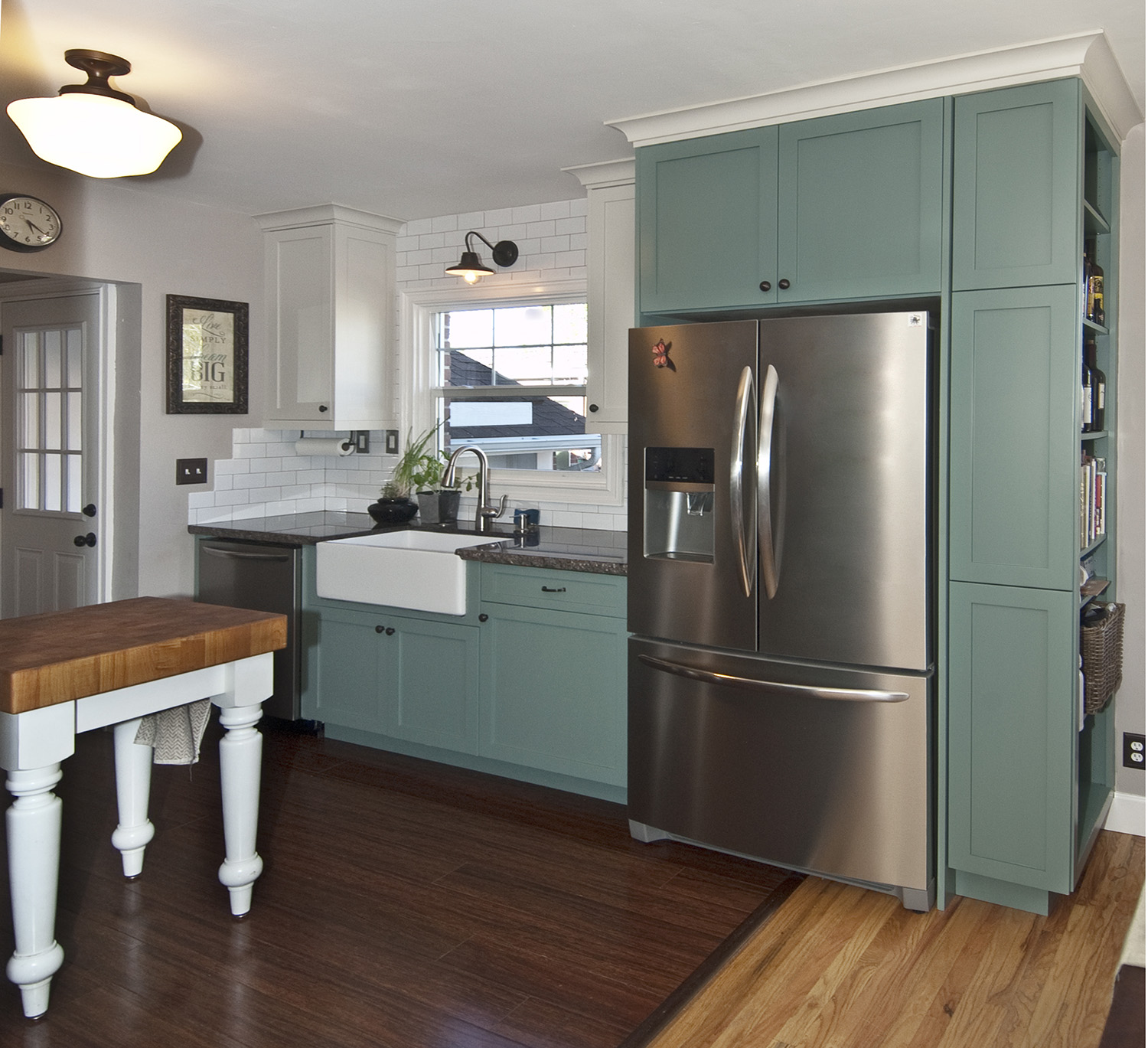 Teal cabinets kitchen amazing best 25 teal cabinets ideas for Teal kitchen cabinets