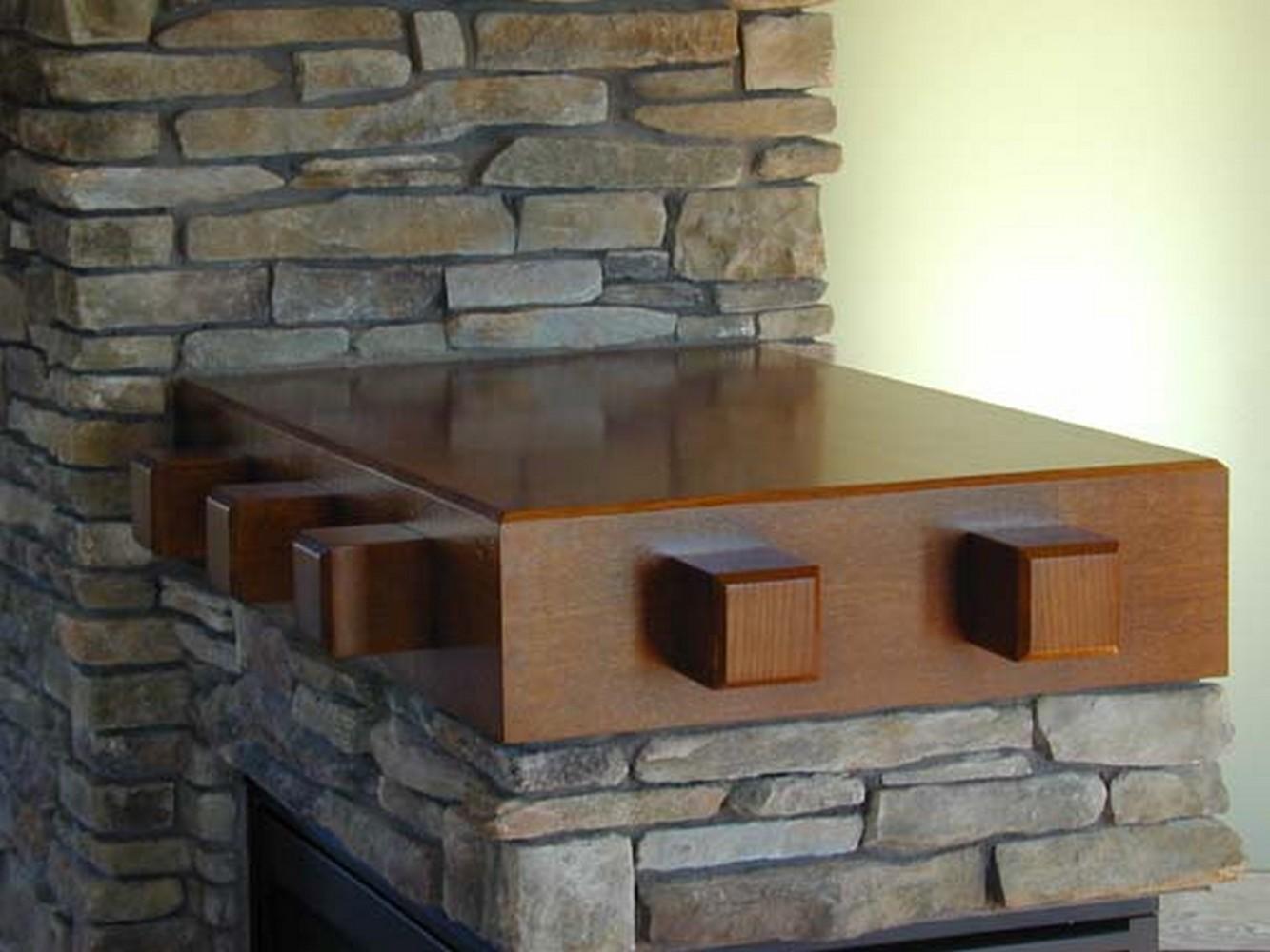 Unique Fireplace Mantels mantels & fireplace surrounds | unique design cabinet co
