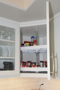 Diagonal Upper Cabinet